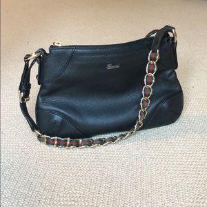 Gucci Classic Black Shoulder Bag